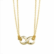 Pacha's 18in Gold Petite Infinity Necklace