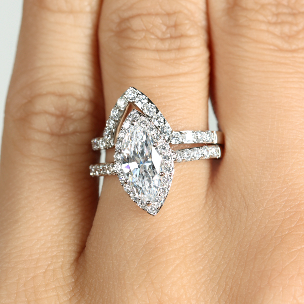 padgett s marquise cut cz engagement ring guard