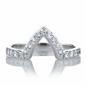 Padgett's Marquise Cut CZ Engagement Ring Guard