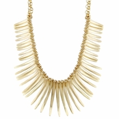 Pandora's Goldtone Spike Egyptian Style Choker Necklace
