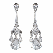 Petite Eiffel Chandelier Earrings