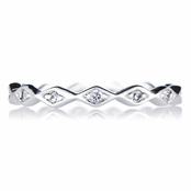 Raewyn's Stackable Eternity Ring - Silver