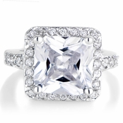 Rian's 5 Carat Princess Cut Engagement Ring
