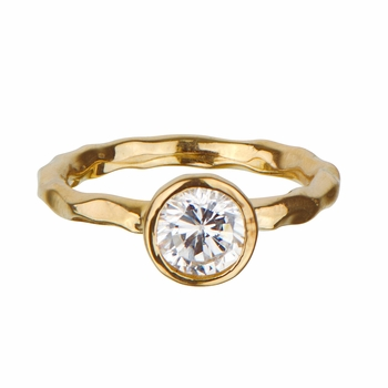 Scarlett's Gold Engagement Ring Jewelry