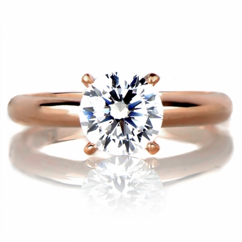 Serafina's Engagement Ring - Rose Gold Plated