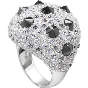 Seraphim's CZ Studded Dome Cocktail Ring
