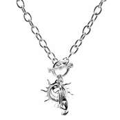 Sloane's Sun & Wolf Charm Necklace