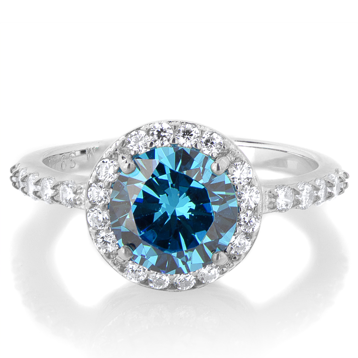 aquamarine march birthstone media rings for natural engagement promise her ring
