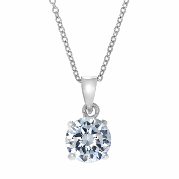 Sutherland 2 CT Solitaire Pendant
