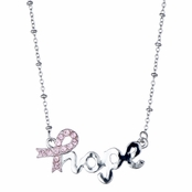 "Tonya Faye's Breast Cancer Awareness ""Hope"" Necklace"