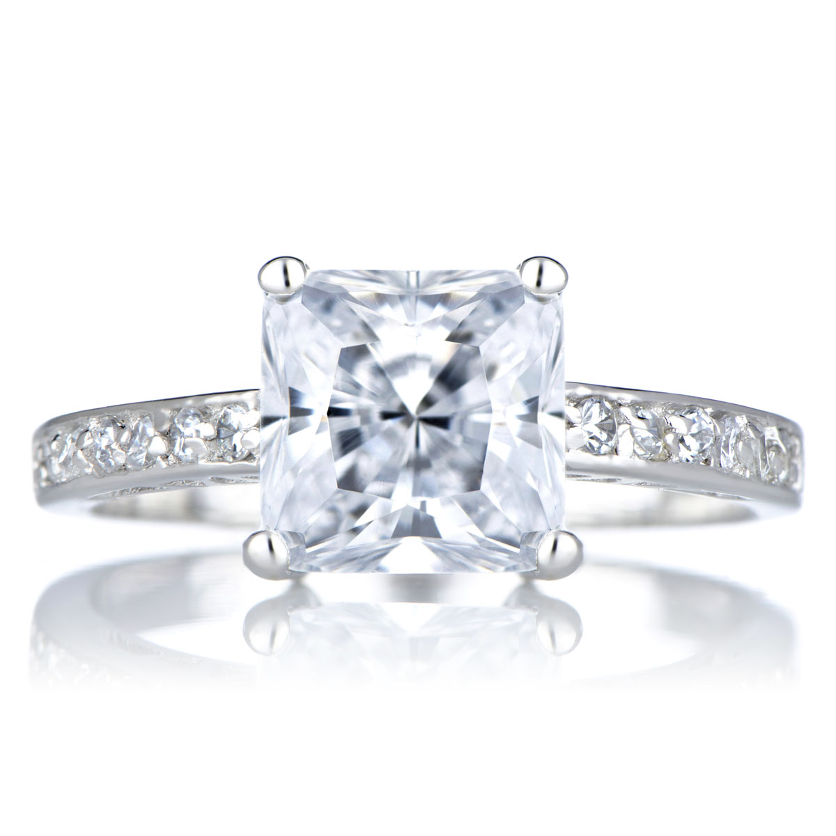 trista s promise ring clear princess cut cz