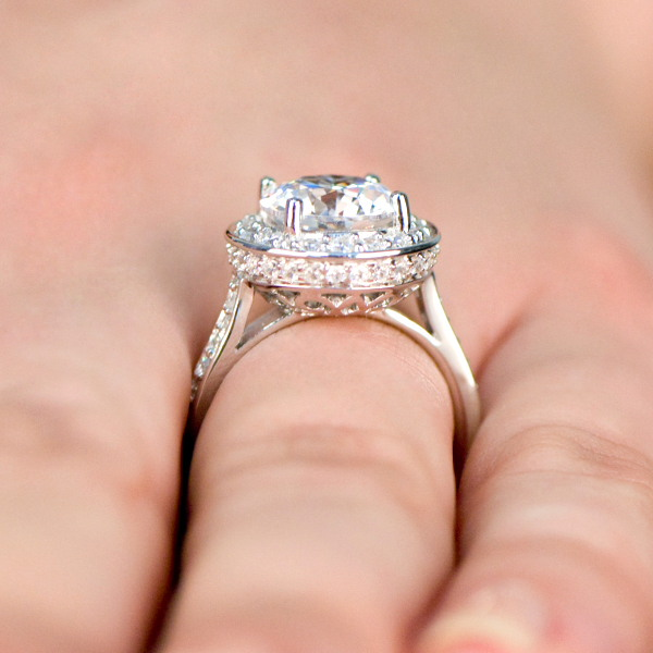 princess rings ring s solitaire engagement ebay white diamond solid wedding ct real gold p