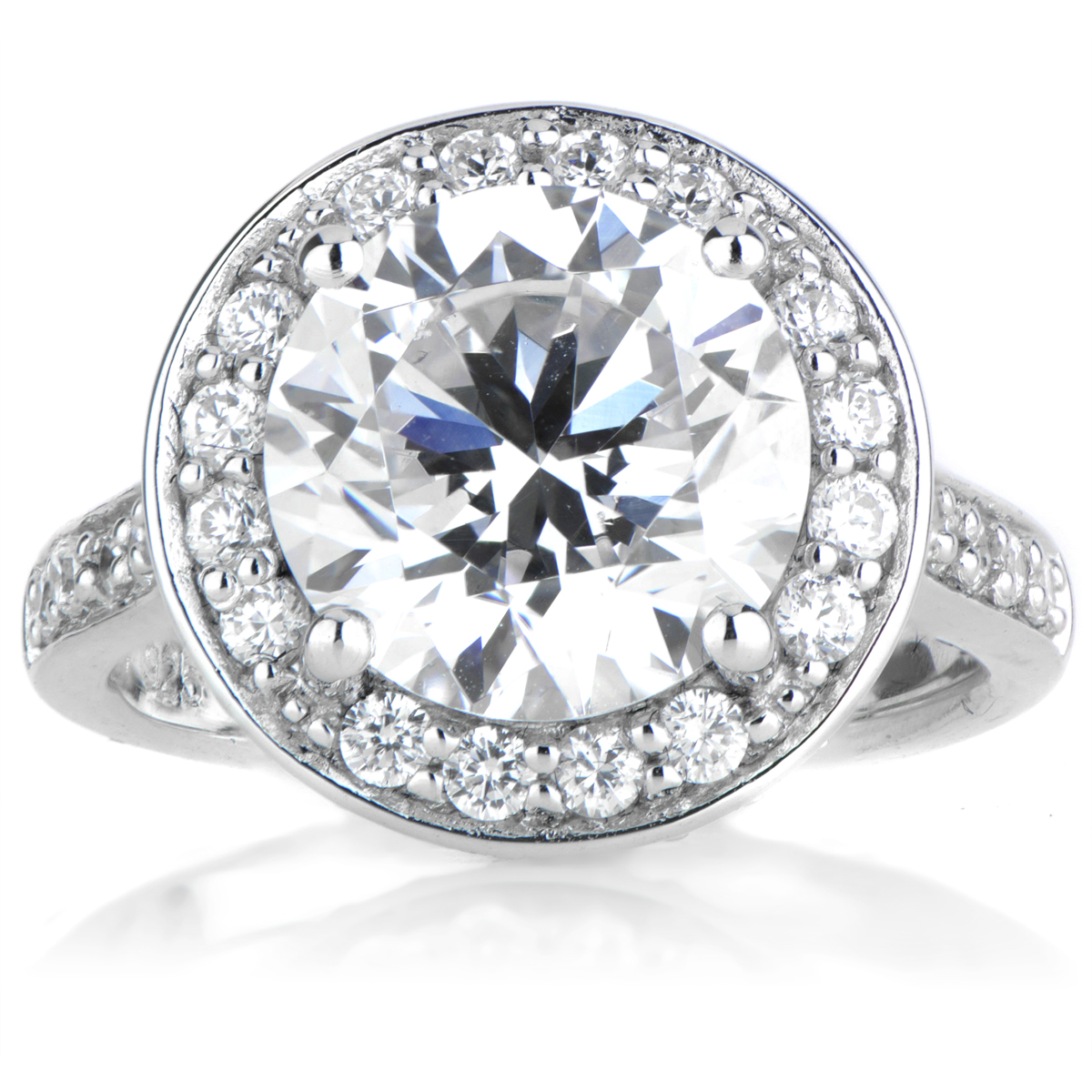 Cubic Zirconia Engagement Rings | CZ Engagement Rings | CZ Rrings
