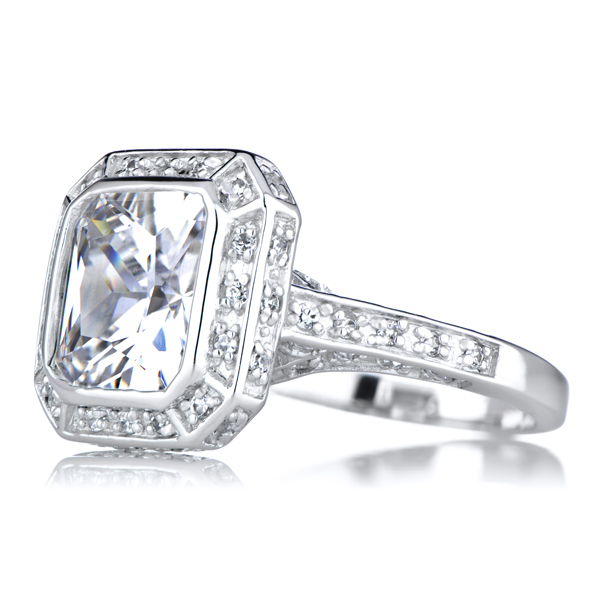 cheap engagement rings fake diamond