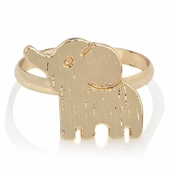 Zoey's Petite Gold Elephant Ring