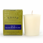 Black Orchid Ylang Giant Votive by Trapp