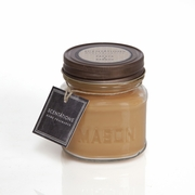 Papaya & Bamboo Mason Jar Candle by Scentations