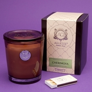 Cherimoya Large Soy Candle by Aquiesse