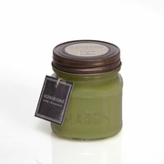 Green Papaya & Bamboo Mason Jar Candle by Scentations
