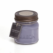 White Linen & Lavender Mason Jar Candle by Scentations
