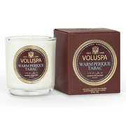 Warm Perique Tabac 3oz Votive Candle by Voluspa Maison Rouge