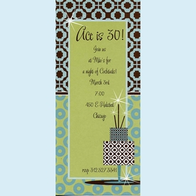 Ace of Cakes Invitation - click to enlarge