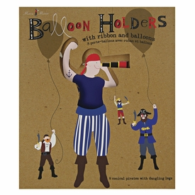 Ahoy There Pirate Balloon Holders - click to enlarge