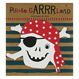 Ahoy There Pirate Garland - click to enlarge