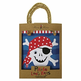Ahoy There Pirate Party Bags - click to enlarge