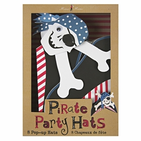 Ahoy There Pirate Party Hats - click to enlarge