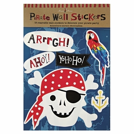 Ahoy There Pirate Wall Stickers - click to enlarge