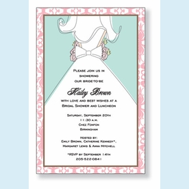 Aisle in Style Invitation - click to enlarge
