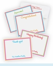 All Occasion Personalized Note Card Set (32 total)