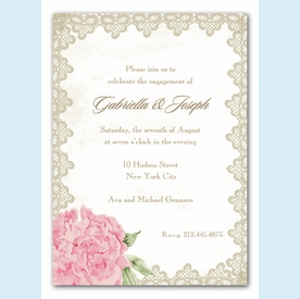 Antique Lace Invitation - click to enlarge