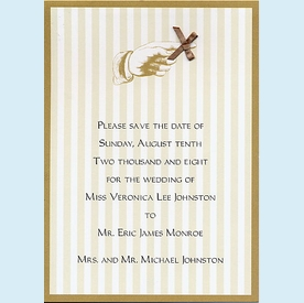 Antique Save the Date Announcement - click to enlarge