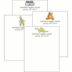 Baby Boy Cute Collections Notepad Set - click to enlarge