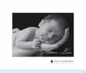 Baby Photo Folded Notes (qty. 50)