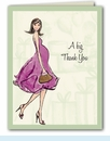 Baby Shower Soiree Thank You Notes
