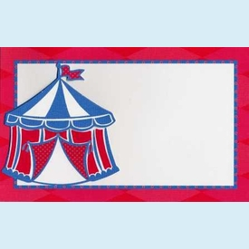 Bailey Circus Party Invitation - click to enlarge