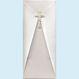 Beaded Cross Invitation - click to enlarge