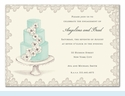 Beautiful Cake Invitation