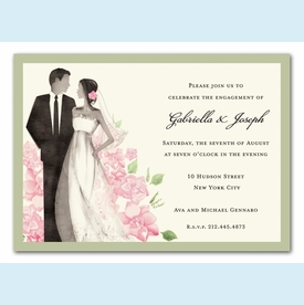 Beautiful Couple Invitation - click to enlarge