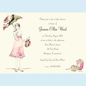 Beautiful Mom Invitation - click to enlarge