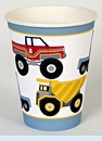 Big Rig Truck Party Cups