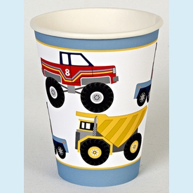 Big Rig Truck Party Cups - click to enlarge
