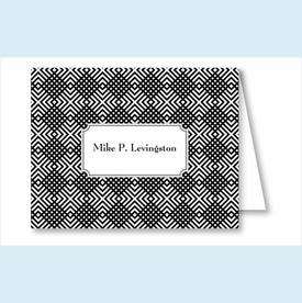 Black Mesh Note Cards - click to enlarge