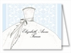 Blue Bride Note Cards