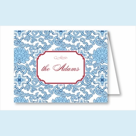 Blue China Note Cards - click to enlarge
