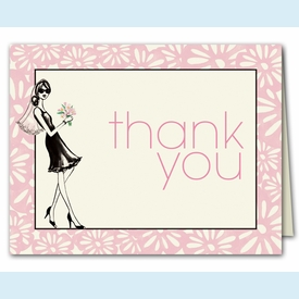 Bridal Shower Thank You Notes - click to enlarge