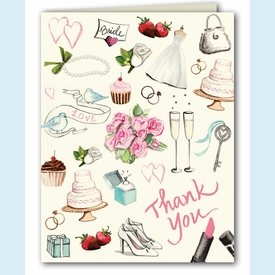 Bridal Style Thank You Notes - click to enlarge